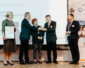 Zukunftspreis-Verleihung 2019 an Reiner Rudolphi (Fotograf: Martin Koch)